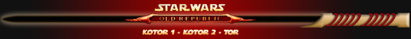 "Star Wars - Kotor 1 - Kotor 2 - TOR - ""Knights of the Old Republic"" - ""The Old Republic"" - ""The Sith Lords"" - TSL - ""Ancienne République"" - ""Chevaliers de l'Ancienne République"" - ""Les Seigneurs Sith"""